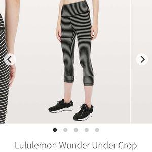 Lululemon Wunder Under crop pants